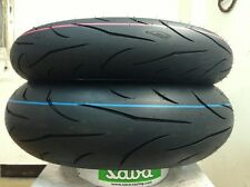 Coppia pneumatici moto 120/70/17 58W + 190/55/17 75W Mitas Sport Force plus 1718