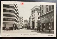 1950 Lisbon Portugal RPPC Postcard Airmail Cover To Wolverhampton England