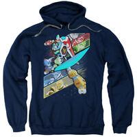 VOLTRON CRISSCROSS Licensed Adult Hooded and Crewneck Sweatshirt SM-3XL