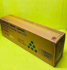 Genuine Ricoh Savin Lanier Pro C651 C751EX Cyan Color Toner Print Cartridge OEM