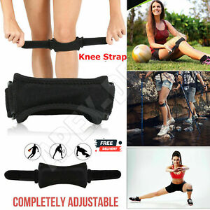 Adjustable Patella Tendon Strap Knee Support Jumpers Runners Pain Band Brace New