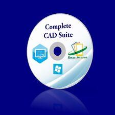 Professional CAD Suite parametric 3D modeler WINDOWS 10 8 7 XP PC and Mac OSX