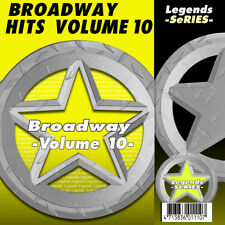 Broadway Musical Karaoke CDG CDs Broadway Musical Legends Volume  10