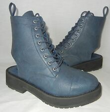 Urban Outfitters Deena & Ozzy Women's Lace Up Cap Toe Boots size 8