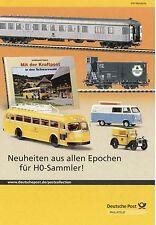 Prospekt Deutsche Post Modellautos Modellbahn H0 Modelle Magirus Mercur MAN F8