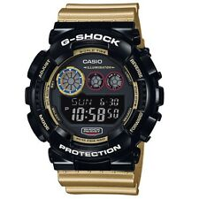 Casio G-Shock GD-120CS-1 Limited Model Black Gold Men's Digital Sports Watch
