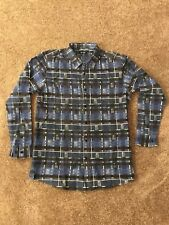 Pink Dolphin Blue Pattered Flannel XXL
