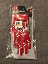 Under Armour Ua Mens Yard Clutch Baseball Softball Batting Gloves Sz Small