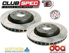DBA T3 SLOTTED FRONT ROTORS suit FPV GS FG BOSS 302 V8 5.4L