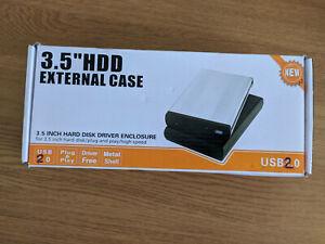 EXTERNAL 3.5 INCH SATA HDD CASE USB 2.0