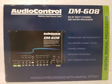 Audiocontrol Dm-608 6 In 8 Out Ch. Dsp Matrix Processor Free Same Day Shipping