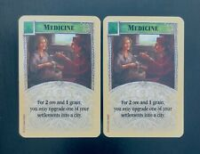 Catan Expansion Cities & Knights | Medicine Science Card x2 | Game Pieces