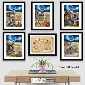 Native American Indian Wisdom Quote Poster Picture Print ONLY A4 or A3 Prints