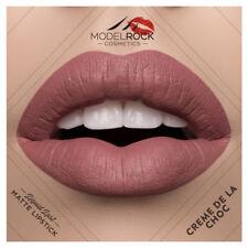MODELROCK Liquid to Matte Lipstick CREME DE LA CHOC model rock last vegan