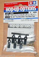 Tamiya 53300 TL-01 Turnbuckle Tie-Rod Set (TL01/Stadium Radier/FF02), NIP
