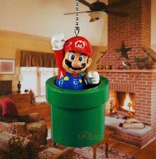 NINTENDO SUPER MARIO BROS Ceiling Fan Pull Light Lamp Chain Decor K1113 C