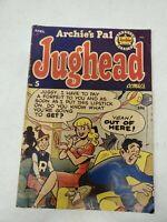 Archies Pal Jughead No 5 April 1951 Riverdale (dd) (bb27)