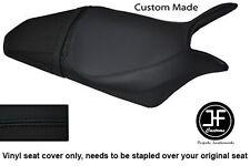 BLACK AUTOMOTIVE VINYL CUSTOM FITS HONDA HORNET CB 600 F 07-12 SEAT COVER ONLY