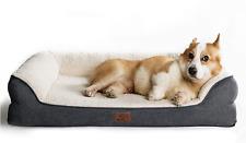 New listing Bedsure Orthopedic Memory Foam Dog Bed for Medium Dogs - Waterproof Dog Beds Med