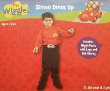 The Wiggles Simon Dress Up Costume Small 3-5 years for Kids