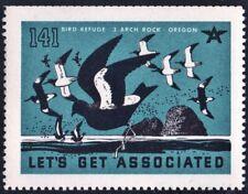 """Let's Get Associated #141 """"Bird Refuge: 3 Arch Rock, Oregon"""" Mnh"""