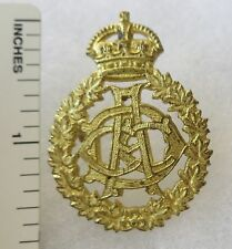 ORIGINAL WW2 Vintage CANADIAN ARMY DENTAL CORPS CAP BADGE