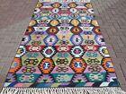 "Vintage Anatolia Turkish Antalya Nomad Kilim 55,1""X91,3"" Area Rug Kelim Carpet"