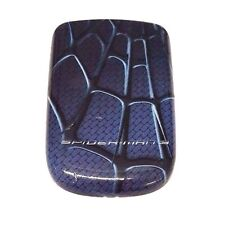 Sony Ericsson Z310 Cellphone Battery Door Spider Net Back Cover Blue Replacement