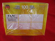 PANINI EURO 2012 1 BOX = 100 cartocci = 500 Sticker em 12 Polonia Ucraina Display
