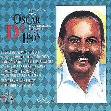 Leyenda Viva, Vol. 2 by Oscar D'León (CD, Oct-1992, Thl)
