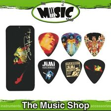 12x Dunlop Jimi Hendrix 'Band of Gypsys' Collectable Guitar Picks in Pick Tin