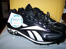 REEBOK BASEBALL CLEATS-METAL MLB COLLECTION-BLK- SZ 16