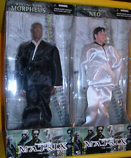 "MATRIX N2 MARTIAL ARTS NEO & MORPHEUS POSEABLE ACTION FIGURE 12""30cm doll 1.6MIB"