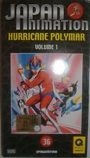 VHS - DE AGOSTINI/ JAPAN ANIMATION - VOLUME 36 - HURRICANE POLYMAR