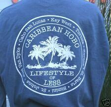 L Caribbean Hobo L/S T-shirt  Key West Cabo bahamas jost van dyke lifestyle