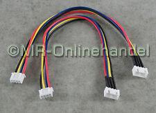 2x 3S Balancer Verlängerung JST-XH 20cm Lipo Kabel Akku 11,1V
