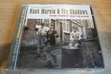 THE SHADOWS - HANK MARVIN & THE SHADOWS FIRST 40 YEARS - DOUBLE CD 45 TRACKS