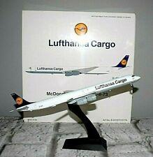 Lufthansa Cargo McDonnell Douglas DC-8-73 Airplane Model D-ADUE 1:200 w/Stand