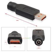 DC Power 5.5x2.1mm Female to Yoga3 Male Converter Adapter Plug For Lenovo Laptop