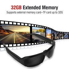 1080P Sportkamera Sonnenbrille Brille Kamera Eyewear USB Videobrille Tragbare DE