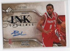 Aaron Brooks 2009-10 SP Signature Edition InkCredible Auto Autograph /399, I-AB