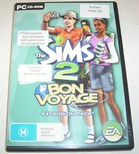 The Sims 2 Bon Voyage Expansion Pack CD set for PC