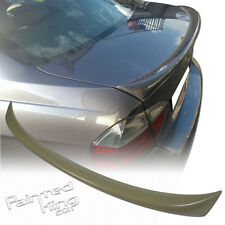 Unpainted For BMW 3-Series E90 OE-Type 4DR Sedan Rear Trunk Lip Spoiler ABS