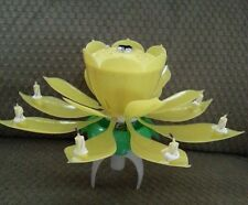 1 Musical Lotus Huge Flower  Romantic Party Gift Lights for Birthday