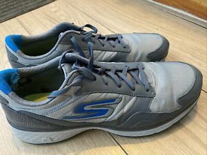 Mens Skechers Go Golf Fairway Golf Shoes UK 13 (Charcoal/Blue)