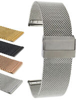 Bandini Quick Release Stainless Steel Mesh Watch Band, Metal - 18mm 20mm 22mm
