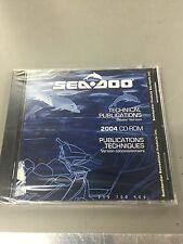 Sea Doo CD Ruplica Technical Publications 2004 E/F Dealer 219700509