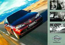 Advertising Postcard Nissan Primera - Swedish Issue