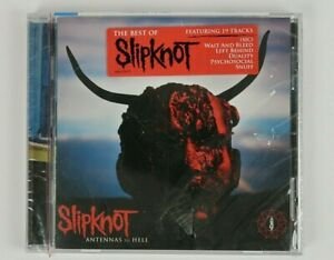 Antennas To Hell by Slipknot (CD, 2012) Crack on case and torn plastic