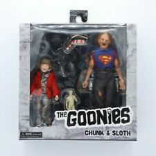 NECA Goonies Movie Sloth & Chunk Action Figure 2 Pack Set Brand New
